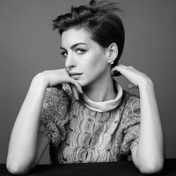 Anne Hathaway Harper's Bazaar Cover Interview 2013